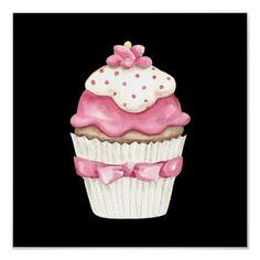 Cupcakes and Sweet Treats Art