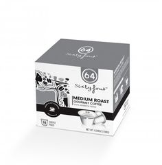 SixtyFour™ Medium Roast Gourmet Coffee Pods 4 Profit Points Paid Back To You!