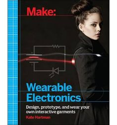 Bringing wearable electronics from concept to prototype to product can be both inspiring and challenging. This book gives you what you need to start working with these new materials, tools, and techniques. It covers popular wearable products such as the Arduino Lilypad, Adafruit Flora, and the Fabrickit.