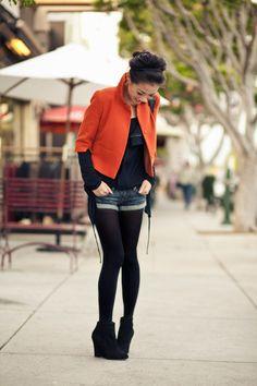 Tangerine :: Swing jacket