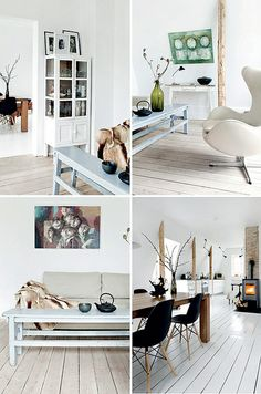 nordic style family home by the style files, via Flickr                                          white
