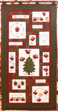 Teddlywinks Quilt - # 4614: Christmas Song