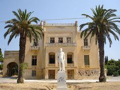 Syggros Estate and Forest Greek House, North Africa, Palm Trees, Abandoned, Around The Worlds, Athens Greece, Mansions, Palaces, Architecture