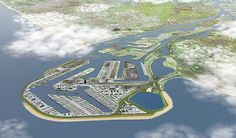 Maasvlakte II container terminal in Rotterdam