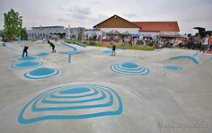 Skaterpark in Helmbrechts. 02.JPG. Oberfranken. Deutschland.