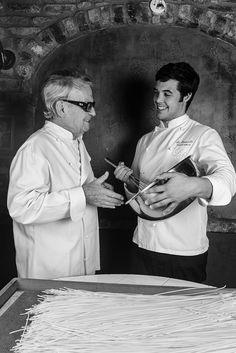 Chef Giancarlo Junyent e Giancarlo papà, RJ
