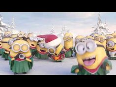 Minion (Despicable Me) Christmas Choir l AMC Theatres - YouTube