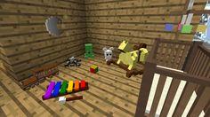 мод на майнкрафт 1.7.10 на детские кроватки #1