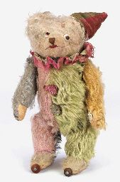 A very rare Crämer clockwork Clown bear
