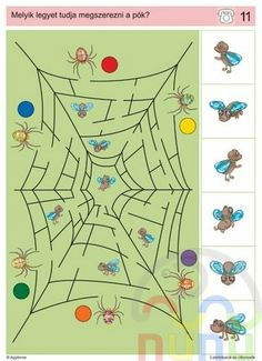 visuele discriminatie voor kleuters / preschool visual discrimination Math Exercises, Sequencing Cards, Logic Games, Bugs And Insects, Exercise For Kids, Preschool Worksheets, Creative Thinking, Speech Therapy, School Supplies
