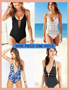 Dime Piece One Piece - Guide to One-Piece Swimsuits for Petite Women