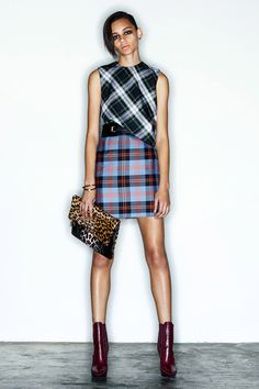 Style.com Editors Weigh In on Pre-Fall 2014 Trends  tartans  Alexander McQueen