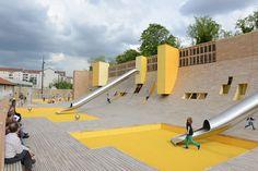 Une aire de jeux nouvelle génération au parc Blandan- Site Officiel de la Ville de Lyon