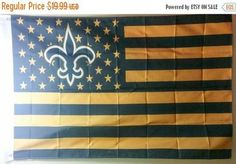 New Orleans Saints flag - Canal Street Chronicles
