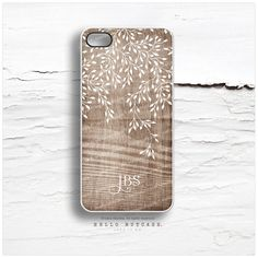 iPhone 6S Case Floral, iPhone 6S Plus Case Personalized, iPhone 5s Case Faux Wood, iPhone 6 Case iPhone 6 Case, Monogrammed iPhone Case I146