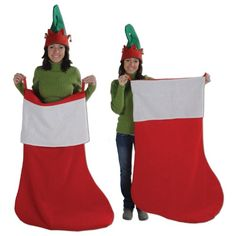 beistle 1 pack jumbo stocking 4 feet 6 inch - Large Christmas Stockings