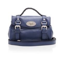 Mini Alexa is a scaled down version of the relaxed, modish satchel, combining classic characteristics from the Bayswater and style touches from the Elkington briefcase. @Mulberry