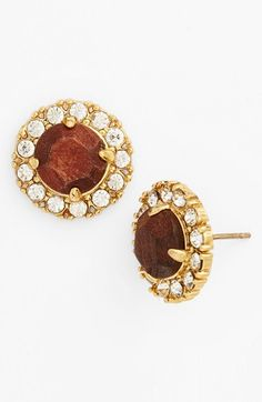 kate spade new york 'secret garden' mixed stone stud earrings   Nordstrom