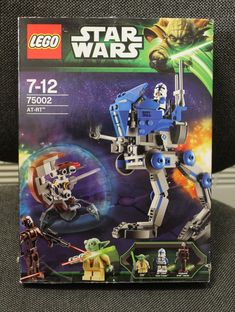 LEGO Star Wars 75002 AT-RT. with Instructions and packing box / pre-owned #Lego