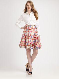 Kate Spade polka dot skirt
