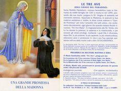La devozione delle tre Ave Maria, quante grazie per chi crede