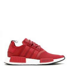 Chaussure Adidas NMD R1 Rouge Blanche Noir Vente BY2503 Nmd Femme d9096d5306d