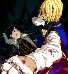 Chrollo & Kurapika #hxh