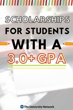 a GPA? These 22 scholarships will be a breeze for you! If you have a grade point average of (or higher), you qualify for the below 22 scholarships.If you have a grade point average of (or higher), you qualify for the below 22 scholarships. College Fund, College Planning, College Admission, Education College, Physical Education, College Dorms, Health Education, Money For College, Study College