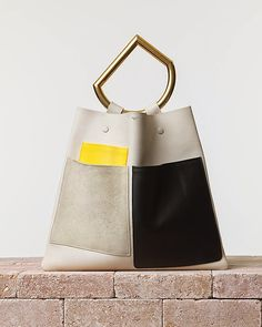 Sac du Garçon: Sucker for Runway: Céline Geometrical Handbag