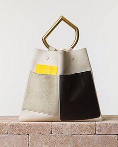 Sac du Garçon: Sucker for Runway: Céline Geometrical Handbag