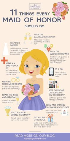 Essentials All Bridesmaids Should Know ❤ See more: http://www.weddingforward.com/essentials-all-bridesmaids-should-know/ #weddings