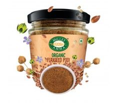 Flax seeds are extremely high in fiber & Omega 3 fatty acids which can support detoxification, fat loss & decrease heat disease. Buy it from Milletamma. Green Chilli Pickle, Ragi Dosa, Flaxseed, Recipe Instructions, Omega 3, Dog Food Recipes, Coconut Oil, Seeds