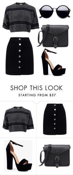 """Untitled #347"" by m-svarstad on Polyvore featuring Brunello Cucinelli, Miss Selfridge and Boohoo"