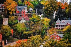 The 50 Most Beautiful Small Towns in America  - HouseBeautiful.com