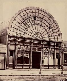 Temperance Hall Coffee, Pitt Street, November courtesy of State Library of New South Wales. Australian Architecture, Historical Architecture, Beautiful Architecture, Vintage Architecture, Old Pictures, Old Photos, Van Diemen's Land, Australian Photography, Sydney City