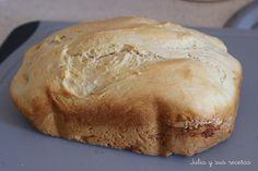 panificadora, pan en panificadora, pan casero, Julia y sus recetas, recetas con panificadora