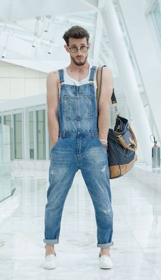 Overall Overall Men Overol hombre Overall Overall Men Overol hombre Overall Overall Men Overol hombre The post Overall Overall Men Overol hombre appeared first on New Ideas. Overalls Fashion, Overalls Outfit, Fashion Outfits, Dungarees, Fashion Hacks, Denim Overalls, Trendy Mens Fashion, Grey Fashion, Rare Clothing