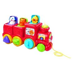 VTech® Roll & Surprise Animal Train™  in exchange for the pacifier?