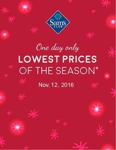 23b2a20bd7fbc 9 Best Sam's Club HSC_SC images in 2016 | One day only, Sam's club ...