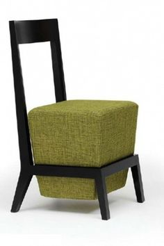 #chair #green to liven up your living room!! Can also be used in passages, hall ways, corners, dining