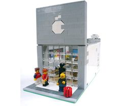 Lego Apple Store - For more about Apple Stores and Apple News, click here… http://retailindustry.about.com/od/AppleIncCompanyResearchIndex/Apple-Inc-Research-Index-Retail-Computer-Stores-Stock-Jobs-Sales-Products.htm #apple #retail #stores #architecture #display #design