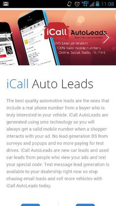 Last chance for US & Canadian Dealers to save $500 on the Award Winning iCall AutoLeads. Text NADA to 71441 Std text& data rates apply.