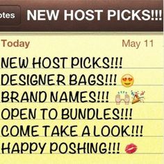 ALL NEW ITEMS!!!  New items are constantly being added to my closet!!! Great brand names including Coach, Hollister, Abercrombie & Fitch, ect!!! Come check it out, make offers, create great bundles & save on shipping!! Don't miss out, items sell fast!!! I don't do trades or Paypal but i can reduce all prices via bundles or my other app Mercari if you use my code ERPMYP (all caps) I will list my items when I get time! Make offers on items (no lowballs, I won't respond)! ❤️❤️❤️ Coach Bags