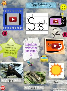 S is the nineteenth (19th) letter in the ISO basic Latin alphabet. #Glogster #S #Alphabet