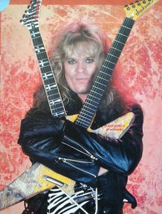Chris Holmes in W.A.S.P.  #ChrisHolmes #wasp