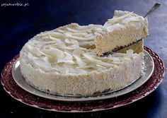 sojaturobie Raffaello with millet without baking. Vegan Recipes, Cooking Recipes, Raw Cake, Kinds Of Desserts, Vegan Cheesecake, Some Recipe, Vegan Sweets, Vanilla Cake, Baked Goods