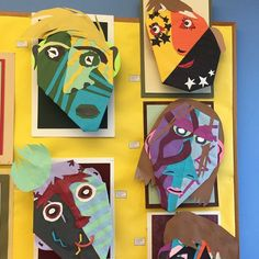 Color, shape, and emotions all tied into one fabulous art project!