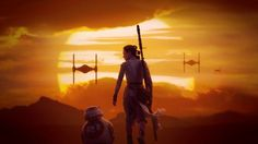 Download Rey and BB 8 Star Wars 7 Wallpaper by Lightsabered 1920x1080