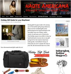 TOM BIHN in Haute Americana Gift Guide for Boyfriends