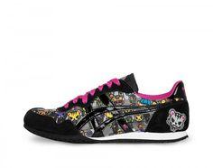 tokidoki x Onitsuka Tiger Womens Serrano Shoe (Multi/Black)